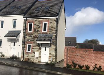 """Thumbnail 3 bedroom end terrace house for sale in """"The Moseley"""" at Carlton Way, Liskeard"""