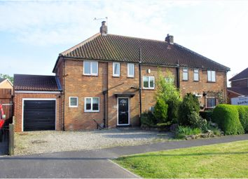 Thumbnail 4 bed semi-detached house for sale in The Crescent, Northallerton