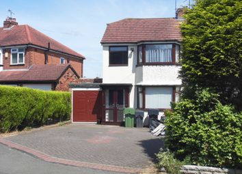 Thumbnail 3 bedroom semi-detached house to rent in Gunner Lane, Rubery, Birmingham