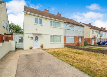 Thumbnail 3 bedroom semi-detached house for sale in Aberdore Road, Gabalfa, Cardiff