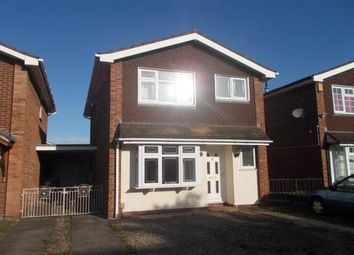 Thumbnail 4 bed detached house to rent in Albany Drive, Rugeley