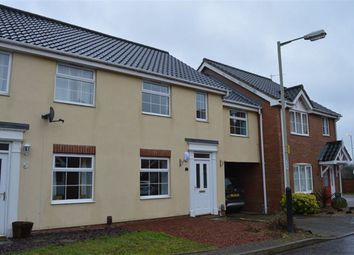 Thumbnail 3 bedroom property to rent in Pollywiggle Close, Norwich