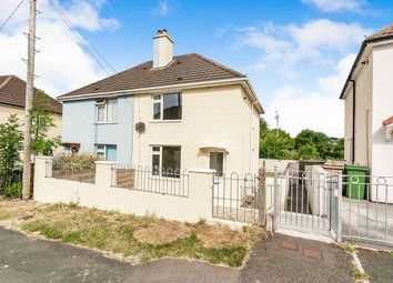 Thumbnail 3 bed semi-detached house for sale in Channel Park Avenue, Plymouth