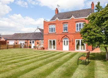 Thumbnail 6 bed detached house for sale in Aston Juxta Mondrum, Nantwich, Cheshire