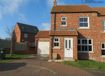 Thumbnail 3 bed semi-detached house for sale in Kristen Turton Close, Holton-Le-Clay, Grimsby, Lincolnshire