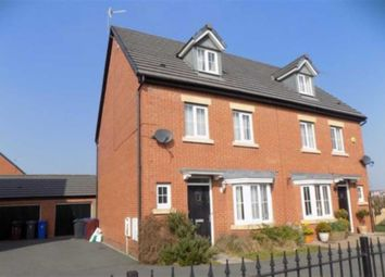 Thumbnail 4 bed semi-detached house to rent in St. Kevins Drive, Kirkby, Liverpool