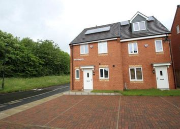 Thumbnail 3 bed semi-detached house for sale in Elmont Close, Newcastle Upon Tyne, Tyne And Wear