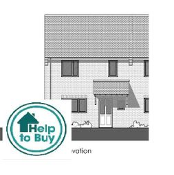 Thumbnail 3 bed end terrace house for sale in Rugby Way, Wimborne, Wimborne