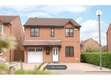 Thumbnail 4 bed detached house to rent in Langton Drive, Two Mile Ash, Milton Keynes