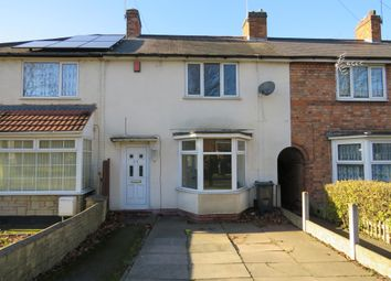 Thumbnail 3 bed terraced house for sale in Upton Road, Stechford, Birmingham