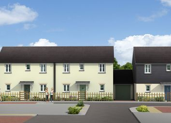 Thumbnail 2 bedroom semi-detached house for sale in St Petroc, The Market Garden, St Anns Chapel, Gunnislake, Cornwall