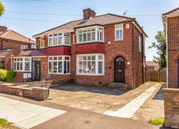 Thumbnail 3 bed semi-detached house for sale in Broadcroft Avenue, Stanmore