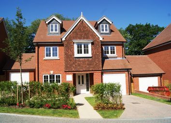 Thumbnail 4 bed detached house for sale in The Croft, Ash Green, Surrey