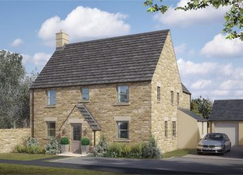 Thumbnail 4 bed detached house for sale in Rixon Road, Northleach