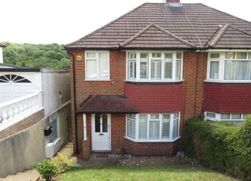 Thumbnail 3 bedroom semi-detached house to rent in Hyde Road, Sanderstead, South Croydon