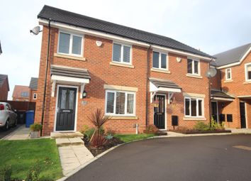 Thumbnail 3 bed semi-detached house for sale in Cotton Fields, Walkden, Worsley
