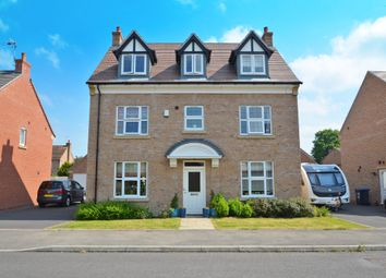 Thumbnail 5 bed detached house for sale in Great Orme Close, Cawston, Rugby
