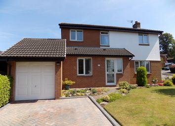 Thumbnail 4 bed detached house for sale in Kestrel Road, Northwich