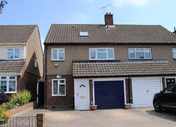 Thumbnail 4 bed semi-detached house for sale in Tabrums Way, Cranham, Upminster