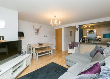Thumbnail 2 bed flat for sale in Salamander Court, Leith, Edinburgh