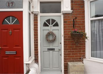 Thumbnail 3 bed terraced house for sale in Edmund Road, Southsea