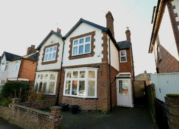 Thumbnail 3 bed semi-detached house for sale in Upperton Road, Leicester