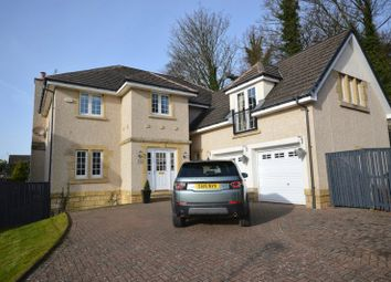 Thumbnail 5 bed detached house for sale in Fernie Gardens, Cardross, Dumbarton