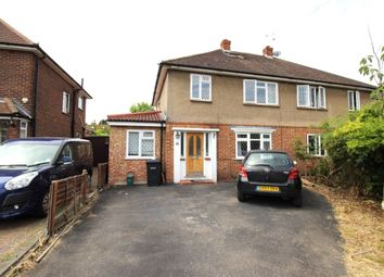 Thumbnail 8 bed semi-detached house to rent in The Crescent, Egham
