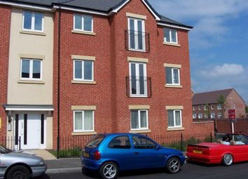 Thumbnail 2 bed flat to rent in Millport Road, Wolverhampton