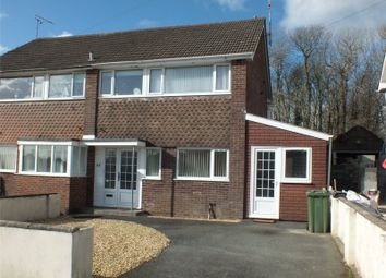 Thumbnail 3 bed semi-detached house for sale in Bunkers Hill, Milford Haven, Pembrokeshire