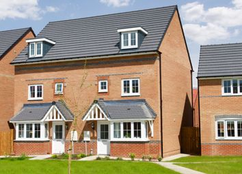 "Thumbnail 4 bed semi-detached house for sale in ""Woodbridge"" at Bay Court, Beverley"