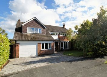 Thumbnail 4 bed property for sale in Brooklands Drive, Goostrey, Crewe