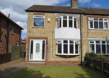 Thumbnail 3 bed semi-detached house to rent in Inglemire Lane, Hull, East Yorkshire