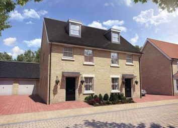 Thumbnail 3 bed semi-detached house for sale in Biggleswade, Bedfordshire