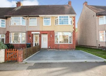 Thumbnail 3 bed end terrace house for sale in Duncroft Avenue, Coundon, Coventry, West Midlands