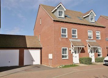 Thumbnail 4 bed semi-detached house for sale in Wren Crescent, Banbury, Oxfordshire
