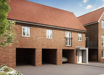 "Thumbnail 2 bed semi-detached house for sale in ""Ash"" at Hedgers Way, Kingsnorth, Ashford"