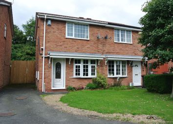 Thumbnail 2 bedroom semi-detached house for sale in Oleander Close, The Rock, Telford, Shropshire.