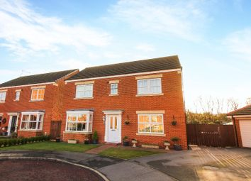 Thumbnail 4 bed detached house for sale in Hownham Close, Seaton Delaval, Whitley Bay