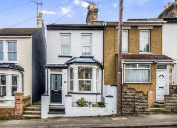 Thumbnail 3 bed end terrace house for sale in Clive Road, Rochester, Kent