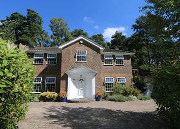 Thumbnail 5 bed detached house for sale in Castle Road, Camberley, Surrey