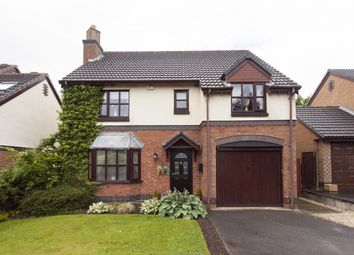 Thumbnail 4 bed detached house for sale in Reeveswood, Eccleston, Chorley, Lancashire