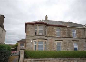 Thumbnail 3 bed flat for sale in Montgomerie Crescent, Saltcoats
