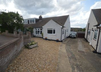 Thumbnail 3 bed semi-detached bungalow for sale in The Furrows, Luton