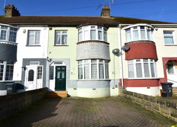 Thumbnail 3 bed terraced house for sale in Abbey Road, Gravesend