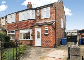 Thumbnail 3 bedroom semi-detached house for sale in Carlyn Avenue, Sale, Greater Manchester