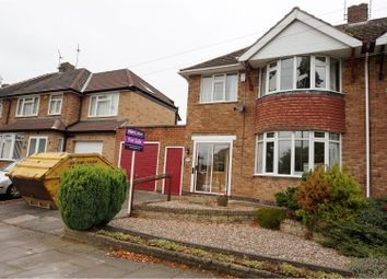 Thumbnail 3 bed semi-detached house for sale in Downing Drive, Leicester