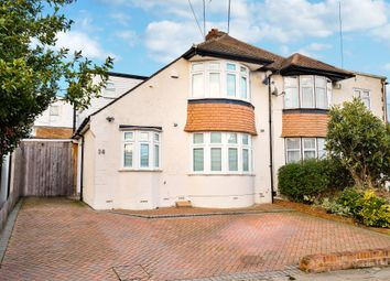 Thumbnail 3 bed semi-detached house for sale in Lynton Avenue, St. Mary Cray, Orpington