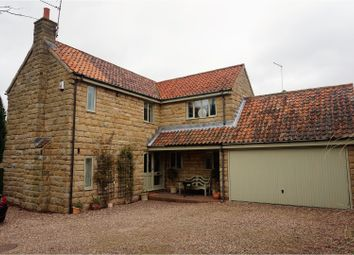 Thumbnail 4 bed detached house to rent in Back Lane, Badsworth, Pontefract