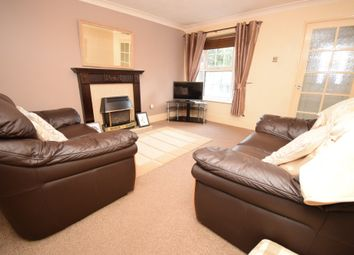 Thumbnail 2 bed terraced house to rent in Chatsworth Drive, Syston, Leicester